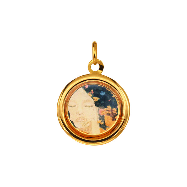 The Modern Muse Collection Golden Italian Gold Pendant