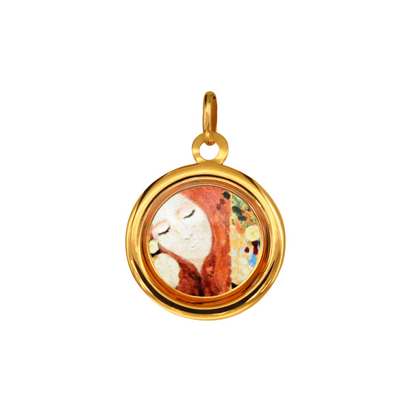 "The Modern Muse Collection ""WHIMSY"" Italian Gold Pendant"
