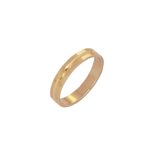18K Saudi Gold Harmonia Wedding Ring