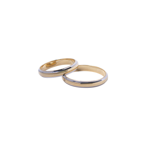 18K Saudi Gold Mellona Wedding Ring