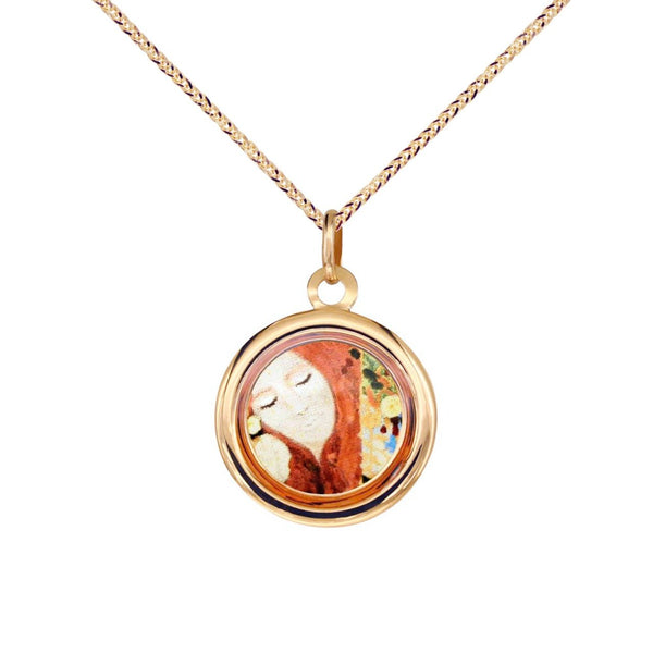 18K Italian Gold Necklace with The Modern Muse Collection Whimsy Pendant