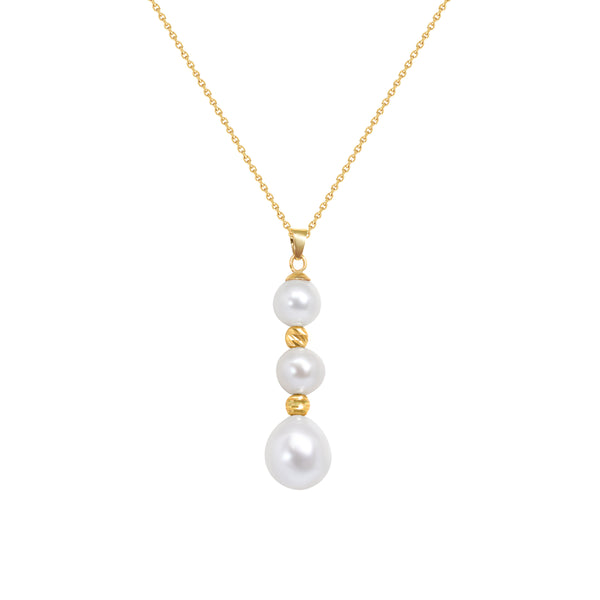 Hanging Freshwater Pearl Necklace