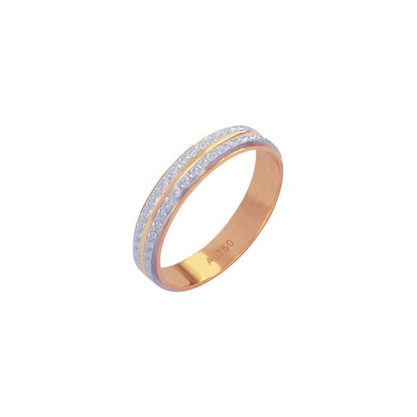 18K Saudi Gold Ariadne Wedding Ring