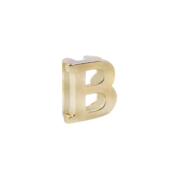 18K Saudi Gold Serendipity Collection B Charm