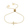 Affinity Cross Bracelet set in 14k Yellow Gold