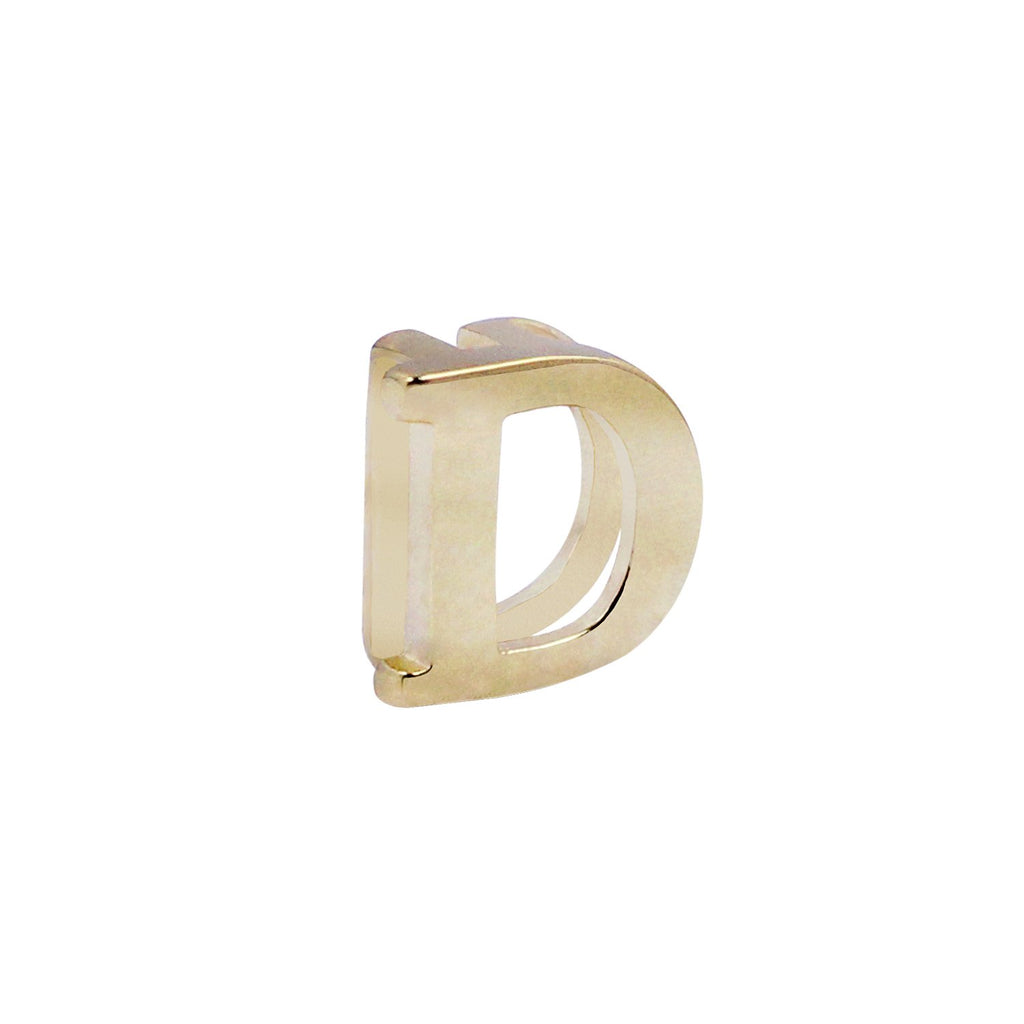 18K Saudi Gold Serendipity Collection D Charm