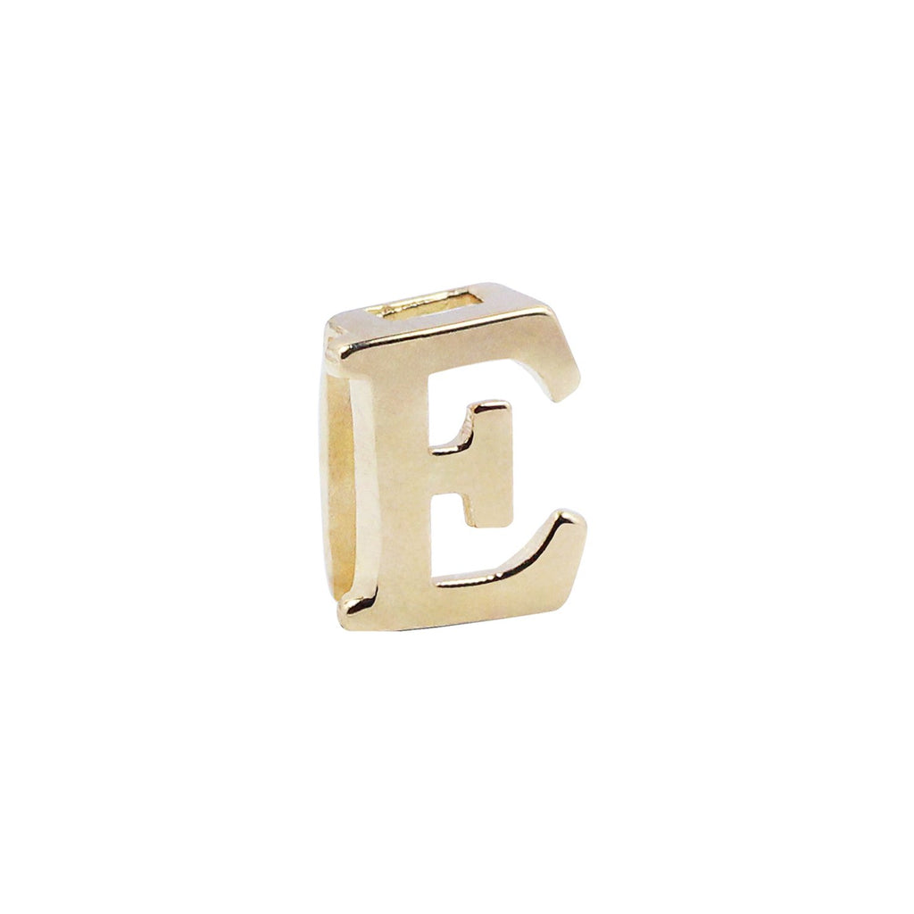 18K Saudi Gold Serendipity Collection E Charm