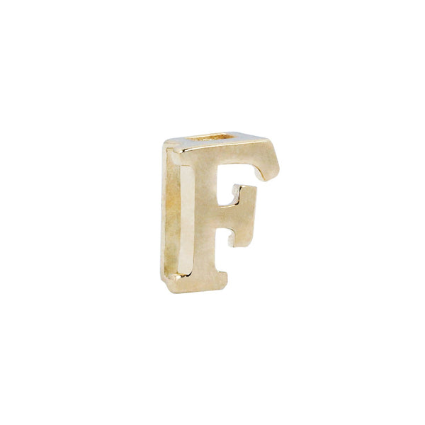 18K Saudi Gold Serendipity Collection F Charm