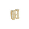 18K Saudi Gold Serendipity Collection H Charm