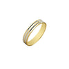14K Italian Gold Terra Wedding Ring