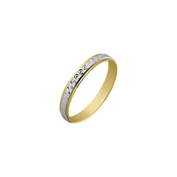 14K Italian Gold Vesta Wedding Ring