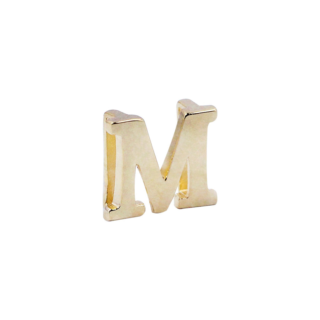 18K Saudi Gold Serendipity Collection M Charm