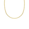 18K Saudi Gold Barbada Chain Necklace