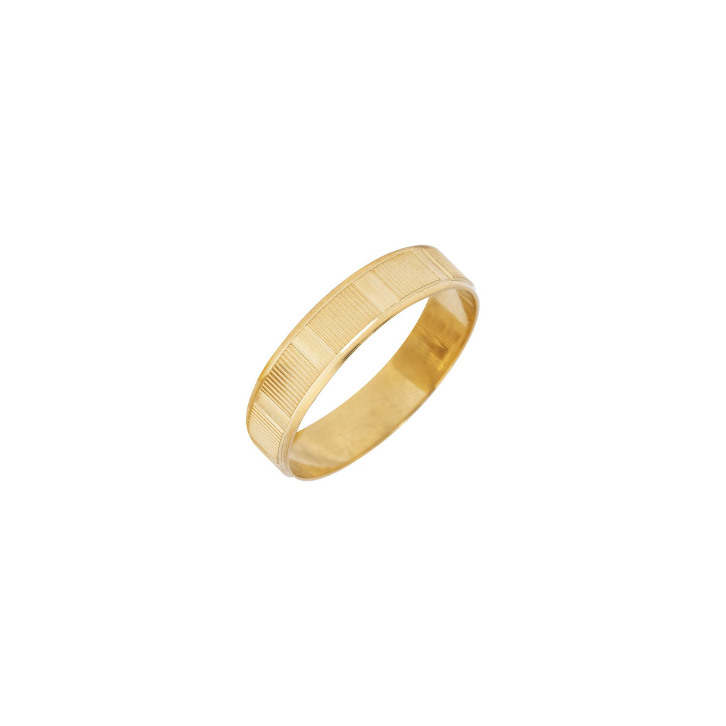 18K Saudi Gold Athena Wedding Ring