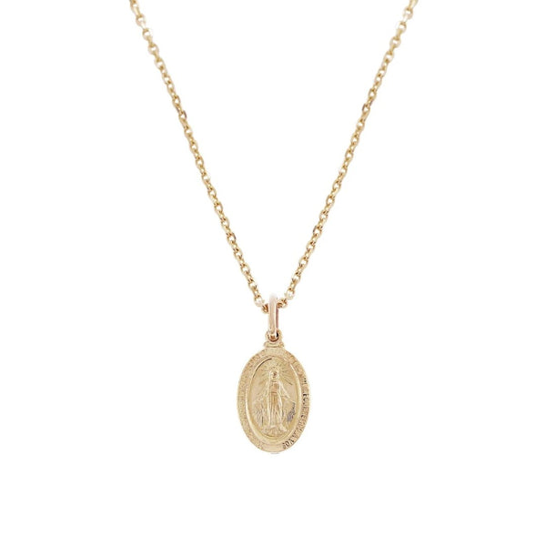 18K Saudi Gold Immaculate Necklace