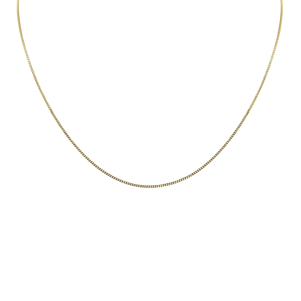 14K Italian Yellow Gold Barbada Necklace by Royal Gem