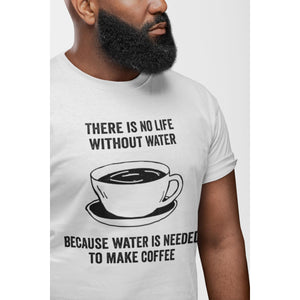 Coffee Academy - Without Coffee, AS Colour Men's T-Shirt-Men - Apparel - Shirts - T-Shirts-Tiny White Lies