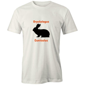 Rabbit - AS Colour Organic Tee-Men - Apparel - Shirts - T-Shirts-Natural-XXS-Tiny White Lies