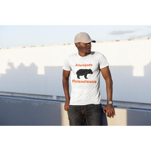 The Panda - Ailuropoda Melanoleuca, AS Organic Tee-Men - Apparel - Shirts - T-Shirts-Tiny White Lies
