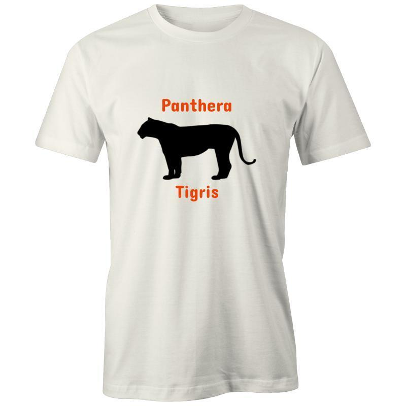 Tiger - AS Colour Organic Tee-Men - Apparel - Shirts - T-Shirts-Natural-XXS-Tiny White Lies