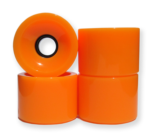 Lucid 70mm 83a Longboard Skateboard Wheels Stone Ground With Bearings /& Spacers