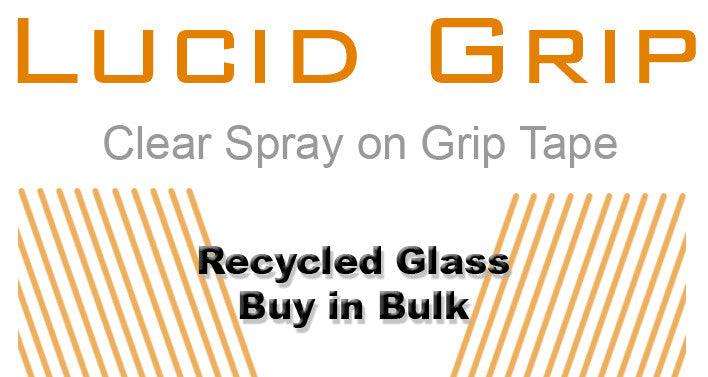 Lucid Recycled Glass Material