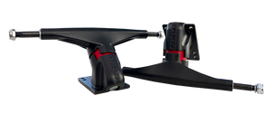 Revenge Longboard Carving Trucks - ALPHA II 175mm (SET) - BLACK