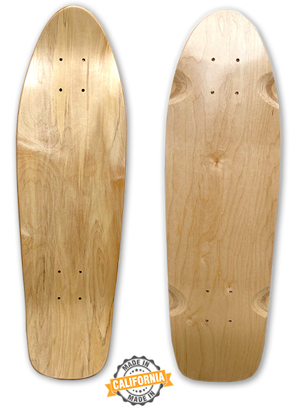 "Lucid - 27"" Cruiser Skateboard DIY Blank Deck for Custom Art"