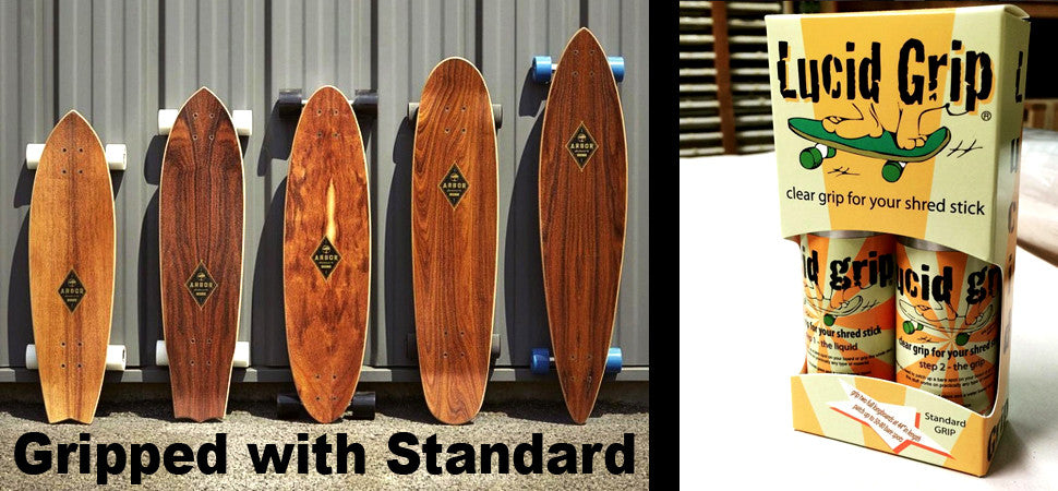 Lucid Grip Arbor Skateboards