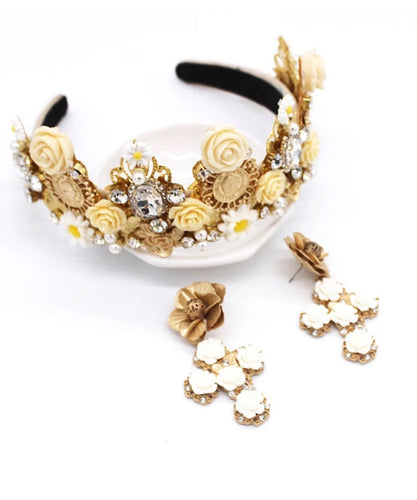 Joya Gold Jewelled Headband