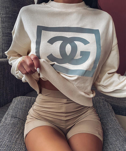 Reflective Logo Jumper