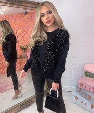 V Sequin Jumper