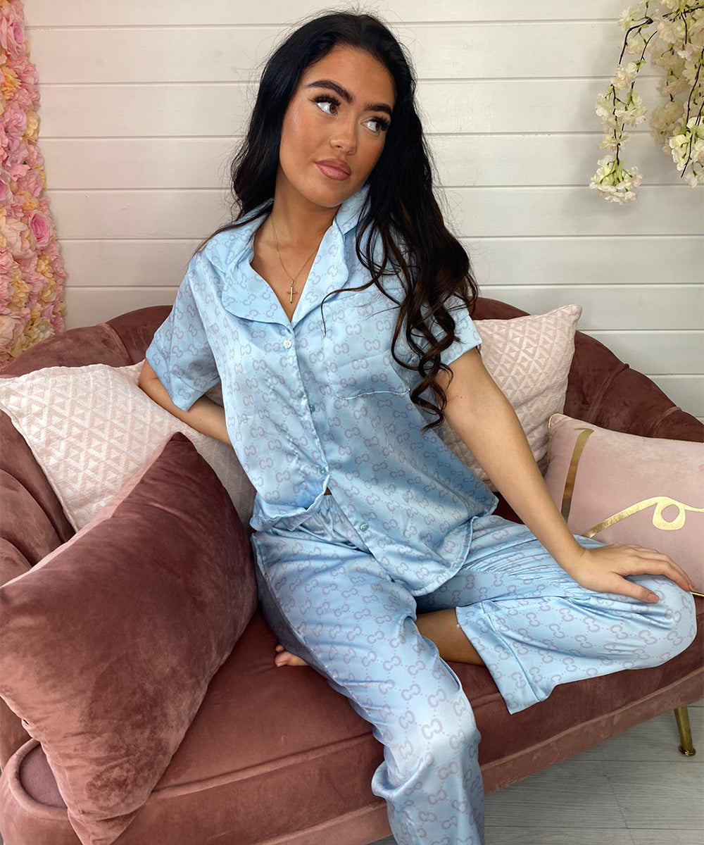 FB Nightwear Collection Trouser - Blue
