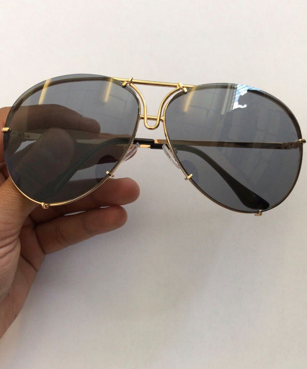 Oversized Aviator Sunglasses