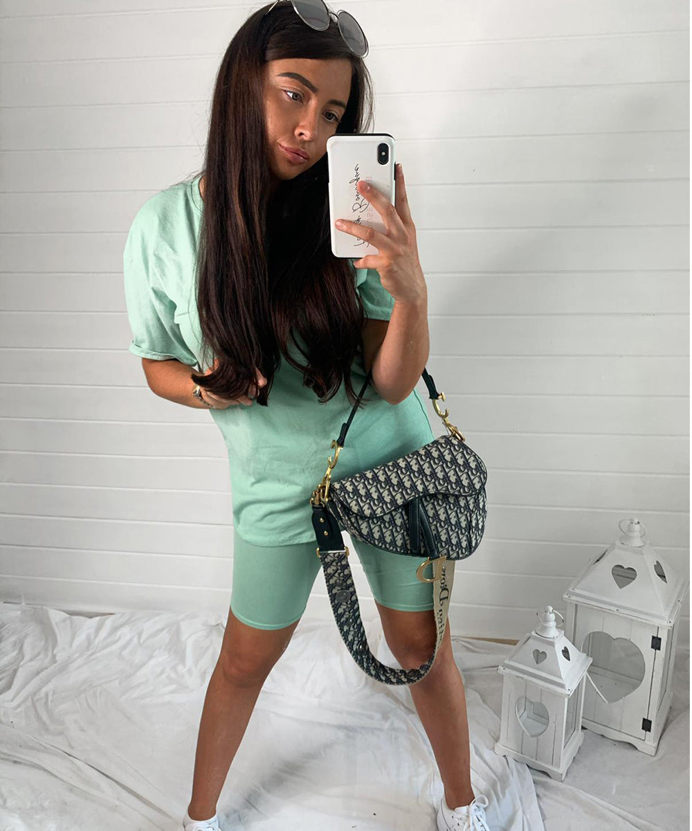 Mint Cycling Short Set