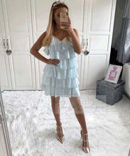 Ruffle Strap Dress