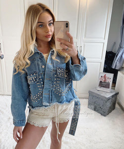 39a756cf7e2d Oversized Blue Denim Jacket