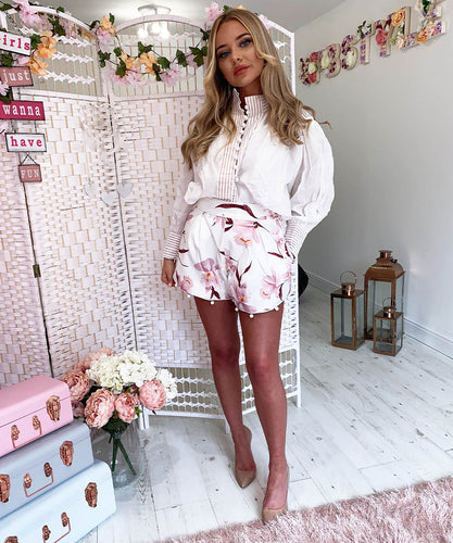 Floral Shorts Co-Ord