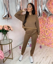 Glittery Detail Hooded Lounge Set