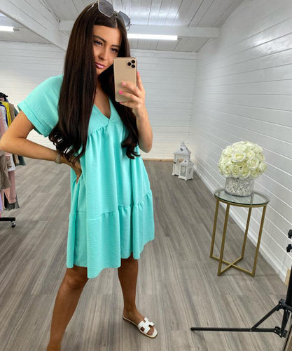 Mint Swing Dress