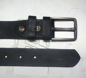 leather404 Clothing, Shoes & Accessories:Men's Accessories:Belts Black Leather Belts, Full Grain Genuine Leather Belt, Non-Layered, Groom Gift