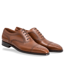 leather404 Clothing, Shoes & Accessories:Men's Shoes:Dress Shoes Oxford Brogue Cap Toe Leather Shoes, Handmade, Shoes For Men, Dress Shoes