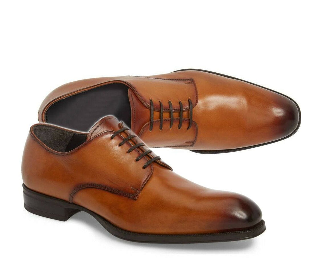 leather404 Clothing, Shoes & Accessories:Men's Shoes:Dress Shoes 8 Handmade Derby Brown Leather Shoes, Dress Men Shoes, Office Shoes, Business Shoe