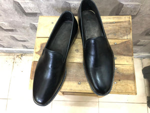 leather404 Clothing, Shoes & Accessories:Men's Shoes:Dress Shoes Handmade Black Leather Loafers Shoes For Men's