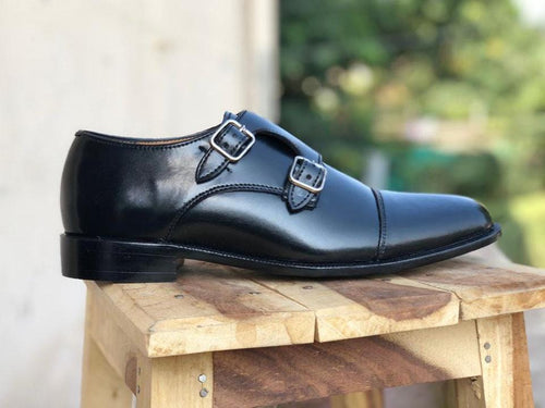 leather404 Clothing, Shoes & Accessories:Men's Shoes:Dress Shoes Mens black leather dress shoes