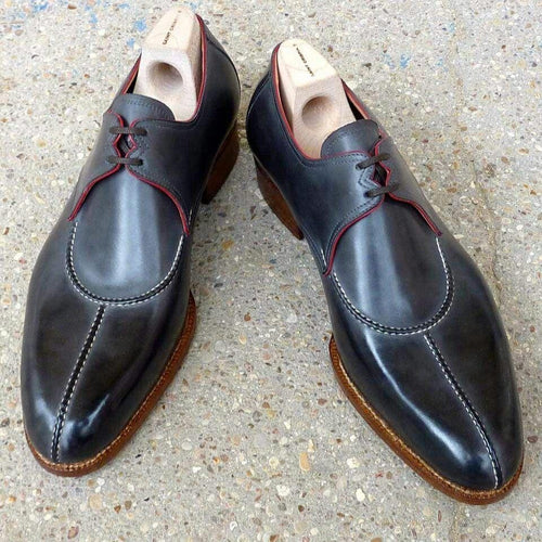 leather404 Clothing, Shoes & Accessories:Men's Shoes:Dress Shoes Gray leather shoes
