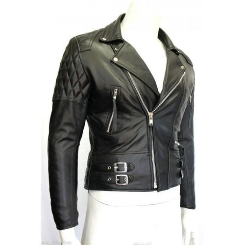 leather404 Clothing, Shoes & Accessories:Men's Clothing:Coats & Jackets s Desperado Men's Black Biker Style Motorcycle Real Classic Cowhide Leather Jacket