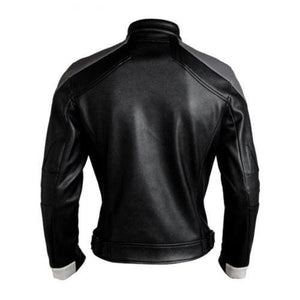 leather404 Clothing, Shoes & Accessories:Men's Clothing:Coats & Jackets Ghost Rider Leather Jacket Agents Of Shield Season 4 Robbie Reyes Biker Jackets