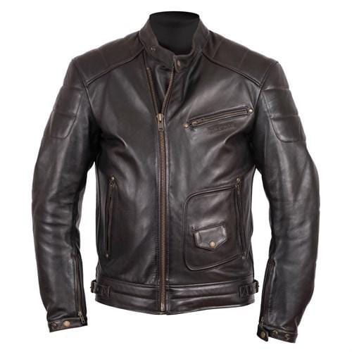leather404 Clothing, Shoes & Accessories:Men's Clothing:Coats & Jackets s Handmade Stylish Black Padded Real Cowhide Leather Pocket Men's Jacket