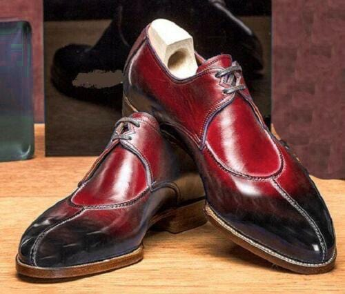 leather404 Clothing, Shoes & Accessories:Men's Shoes:Dress Shoes Maroon Split Toe Shoes